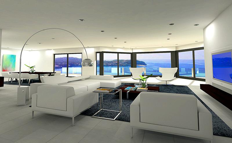 moderne luxus villa in santa ponsa. Black Bedroom Furniture Sets. Home Design Ideas